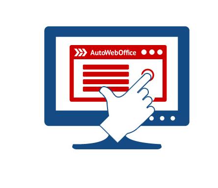 Партнерская программа АвтоВебОфис (АвтоОфис) - Клиент переходит по ссылке и регистрируется в АвтоВебОфис (АвтоОфис)